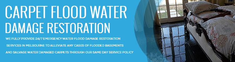 Expert Carpet Flood Water Damage Restoration Clematis