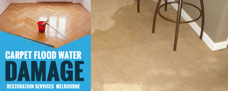 Carpet Flood Water Damage Restoration Yering